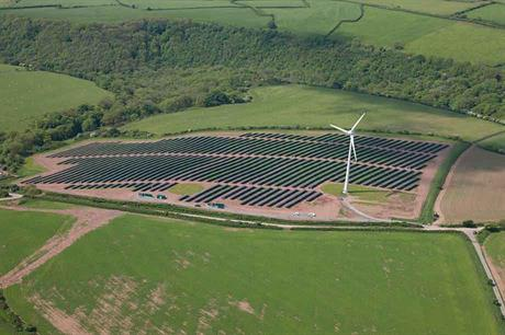 Proof of concept… Welsh pilot project has shown wind and solar output complement each other (pic:Vattenfall)