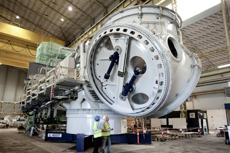 Vestas V164-8.0MW… The most powerful wind-turbine prototype in the world