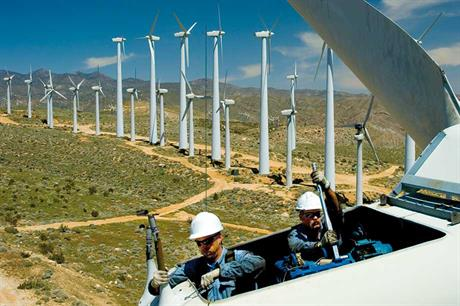 Eighties models… Maintenance has become more sophisticated as the industry strives to make newer turbines last as long as some of the older ones