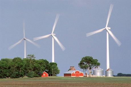 Game changer… GE's 1.5MW led the shift to bigger turbines