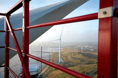 MHi Vestas V164… Already the biggest turbine on the market, the V164 is being uprated to 8.25MW