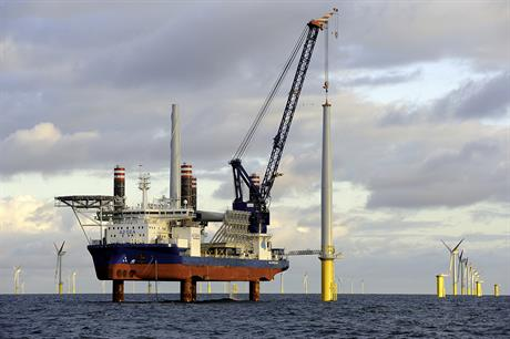 A2Sea's Sea Installer vessel has been chartered for use at Horns Rev 3