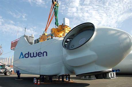 Adwen's 5MW offshore nacelle