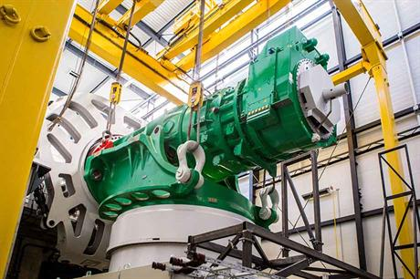 Adwen's A 8-180 8MW machine is currently the largest operating offshore turbine, with an onshore prototype installed