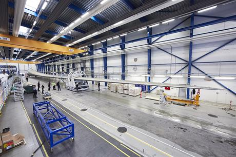 The 88.4-metre LM Windpower blade will be used on Adwen's 8MW turbine