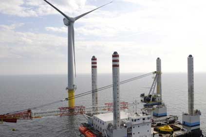Alpha Ventus — Germany's first offshore wind farm