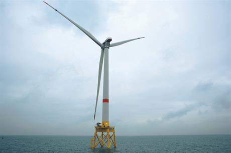 GE Renewable Energy's 6MW Haliade offshore turbine is set for the three EMF projects