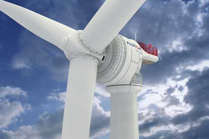 Alstom's wind turbine business is not included in the deal