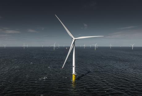 MHI Vestas V164-8.0MW turbine operating at Burbo Bank Extension (pic: Dong Energy)