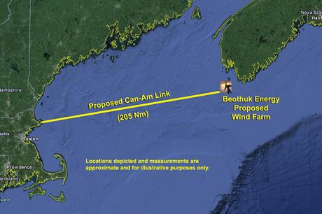 Beothuk's long-term offshore wind plans include a 1GW development off Nova Scotia