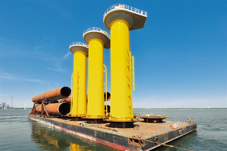 Van Oord will acquire the offshore wind business unit of Bilfinger