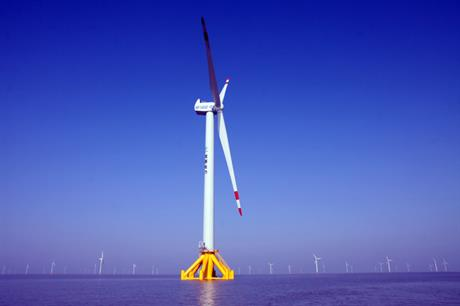 CSIC-HZ installed a 5MW prototype off the coast of China in 2013