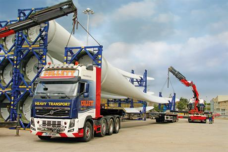 Collett has opened a new port in Grangemouth, Scotland