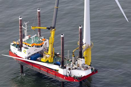 New… DBB's Wind Server can operate in rougher seas