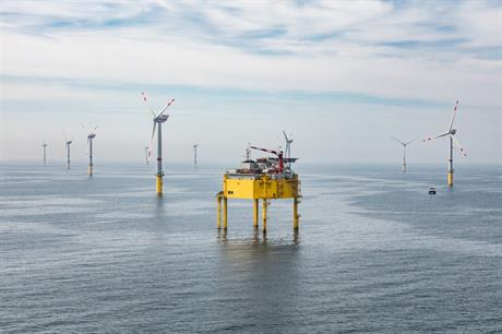 The 400MW Global Tech I in German North Sea was commissioned in 2015 (Pic:Global Tech I/Henthorn)