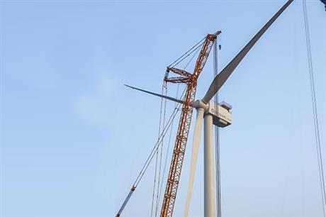 Hyosung's 5MW prototype in place on Jeju Island, South Korea