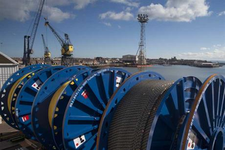 JDR has worked on a number of UK offshore projects, including Dudgeon