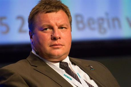 Jan Kjaersgaard leaves Siemens to become CEO of Danish foundations manufacturer Bladt Industries (Source: EWEA)
