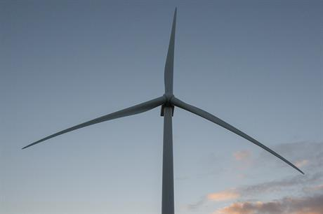 MHI Vestas' V164 8MW turbine in Maade, Denmark