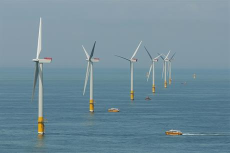 Innogy part-owns and operates the Greater Gabbard offshore project, also off the UK's east coast