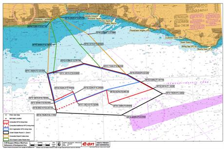 Rampion will be located 13 kilometres from the UK's south coast