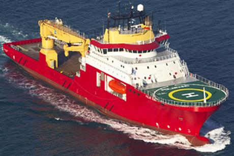 Reef Subsea's CSV Polar King construction vessel