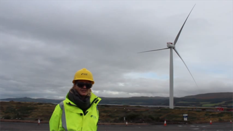Siemens 6MW turbine at the 24MW Hunterston offshore test site in Scotland