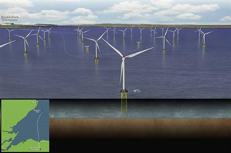 Siemens' 7MW turbines and its offshore transmission modules will be used at Beatrice