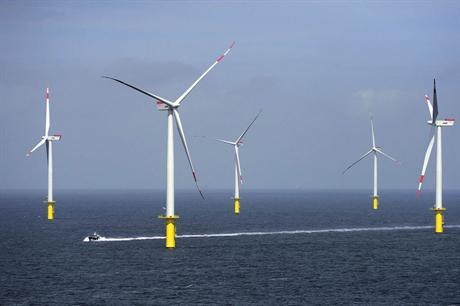 The project uses Siemens 3.6MW turbines