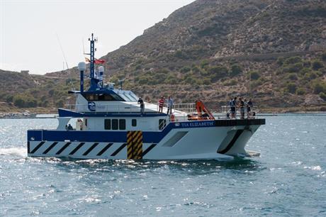 Tidal Transit's vessel Tia Elizabeth has begun work at Sheringham Shoal