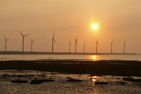Taiwan is developing offshore wind as space for onshore wind is limited (pic: Wiki Commons)