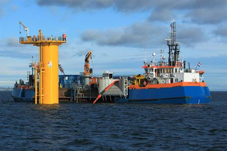 Tekmar worked with Van Oord on this Teesside wind farm development (Pic credit: Van Oord)
