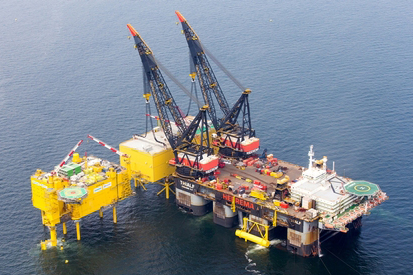 Tennet operatest the HelWin beta platform in the German North Sea