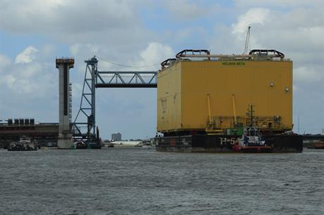 Tennet's HelWin 2 platform was installed in H1
