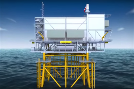 Tennet will install five identical platforms in Dutch waters