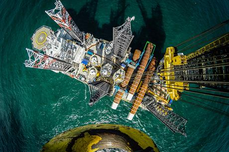 Installation of foundations at Vattenfall's 288MW Sandbank offshore project has been completed