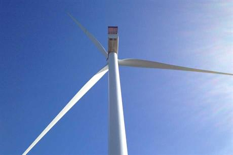 Gamesa's G128 turbine in Gran Canaria, Spain