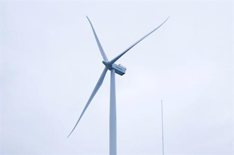 Siemens' 4MW turbine will be used on the project