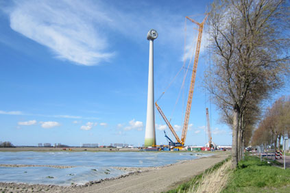 An E-126 under construction in the Netherlands (pic. Eize de Vries)