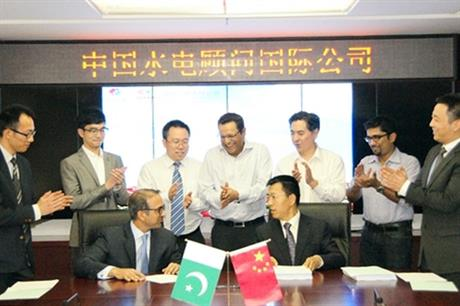 Tapal and Hydrochina sign 30MW Pakistan deal