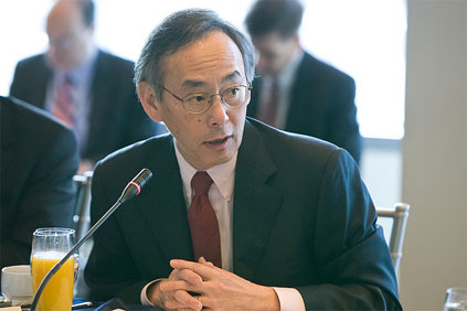 US energy secretary Steven Chu