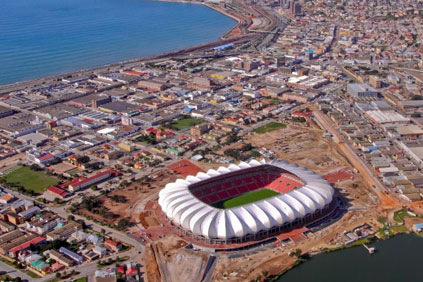The Nelson Mandela Bay Stadium