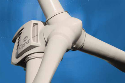 The First Wind deal was for Clipper's 2.5MW Liberty turbine