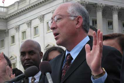US interior secretary Ken Salazar
