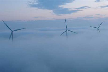 Iberdrola's Blacklaw 2 wind farm in Scotland