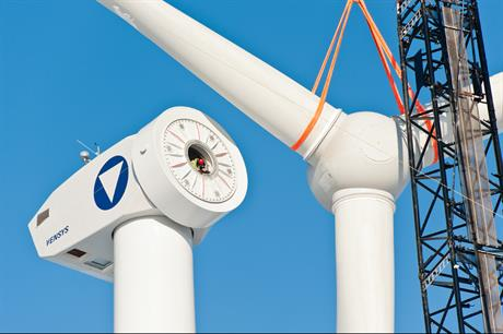 The Vensys-designed 2.5MW turbine (pic: U Mertens)