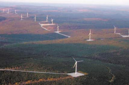 Caribou Wind Park, Canada