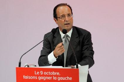 French president Francois Hollande... good news for wind?