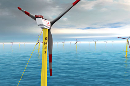 Sway's 10MW floating offshore turbine