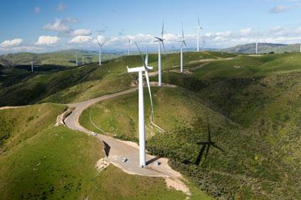 New Zealand's WestWind project in Wellington
